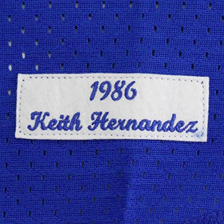 new product eea41 227db Mitchell & Ness Keith Hernandez Blue New York Mets Authentic Mesh Batting  Practice Jersey