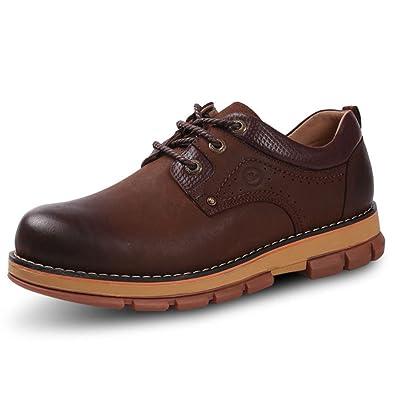 OEMPD Robe D'Affaires Chaussures Occasionnels Chaussures de Mariage en Cuir Véritable Pour Hommes Classic Oxford,Black-38