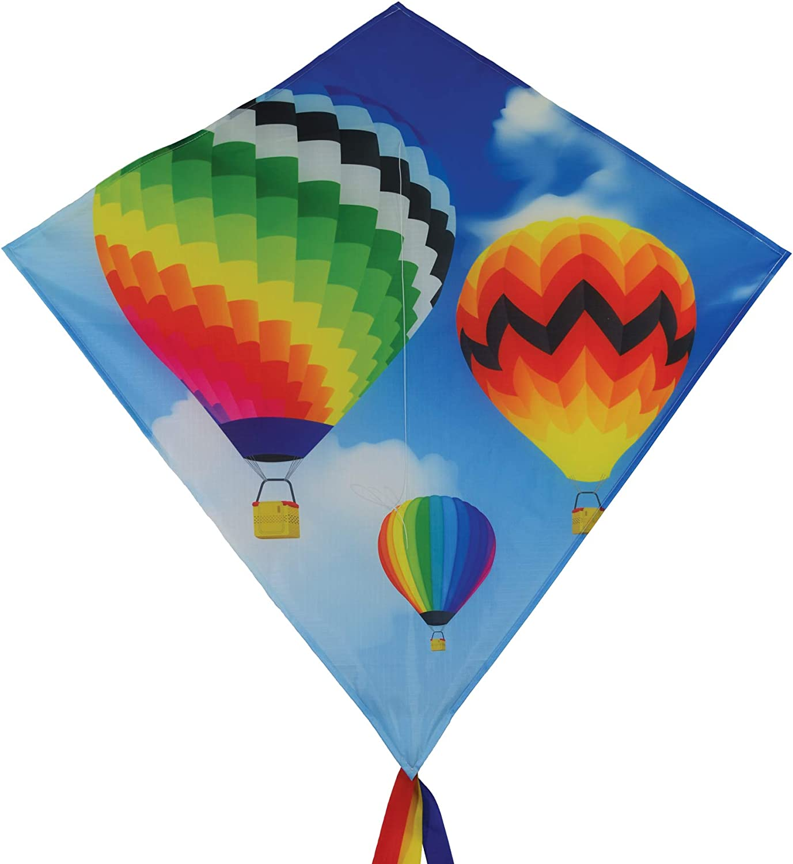 Outdoor Fun Sports Hot Air Balloon Power Kite New Good Flying free shipping