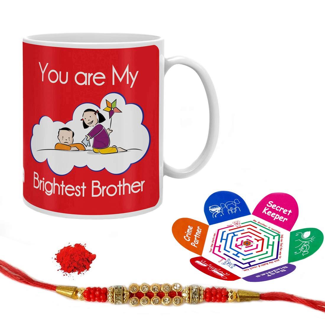 Indi ts Rakshabandhan Gifts for Brother Brightest Bro