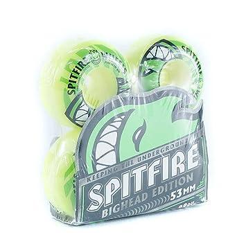 Spitfire electrofires ruedas de Skate 99DU amarillo 53 MM: Amazon.es ...
