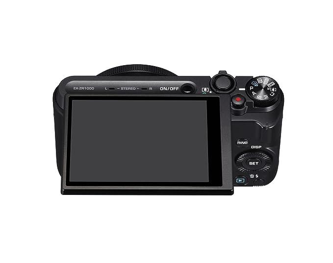 best website 29ddc 9e2cd Casio High Speed Exilim Ex-zr1000 Digital Camera Black Ex-zr1000bk -  International Version (No Warranty)