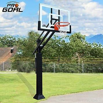 Amazon.com: Sistema de aros de baloncesto Progoal en el ...