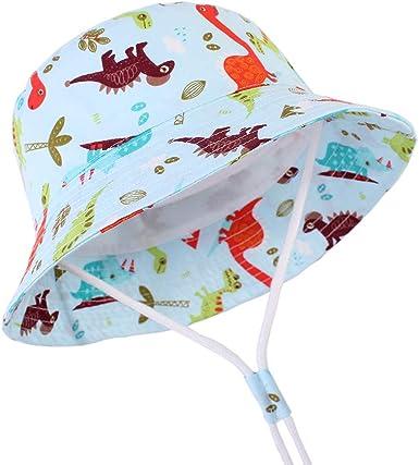 Baby Girls Hats Toddler Summer Boys Sun Hat Wide Brim Sun Protection Bucket Beach Hat for Kids