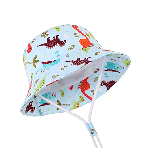 2e5b5e724600de Baby Sun Hat Toddler Kids Wide Brim Sun Protection Hats Kids Beach Swimwear Bucket  Cap (