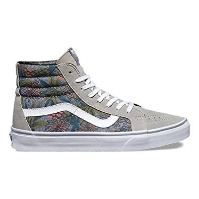 e0ffac9a05 Vans Women s Sk8-hi Reissue Desert Aloha Drizzle (Desert Aloha) Drizzle Chambray  13.5 B(M) US Women  Buy Online at Low Prices in India - Amazon.in