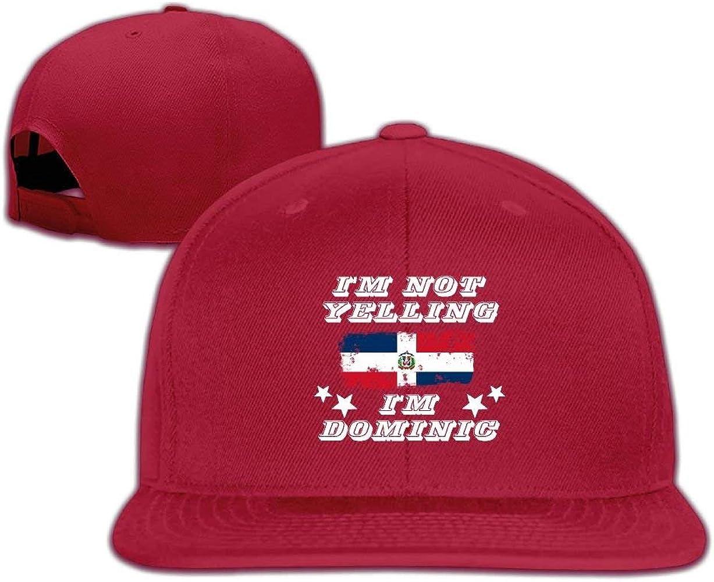 wwoman No Estoy Gritando, Soy dominicano Hombres Brim Gorras ...