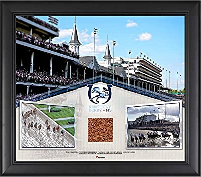 "Kentucky Derby 143 Framed 15"" x 17"" Event Collage with Race-Used Dirt from the 143rd Kentucky Derby - Fanatics Authentic Certified"