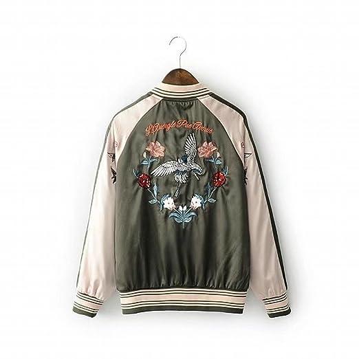Sunny Dream Uniforme uniforme de béisbol béisbol chaqueta Chaqueta de Mujer  abrigo c678693f59b82