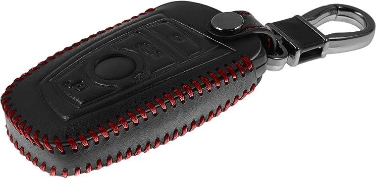 X5 F15 und X6 F16 en Negro Llave Plegable de 4-Key PhoneNatic Funda de Silicona para Mando de 4 Botones de BMW X3 F25