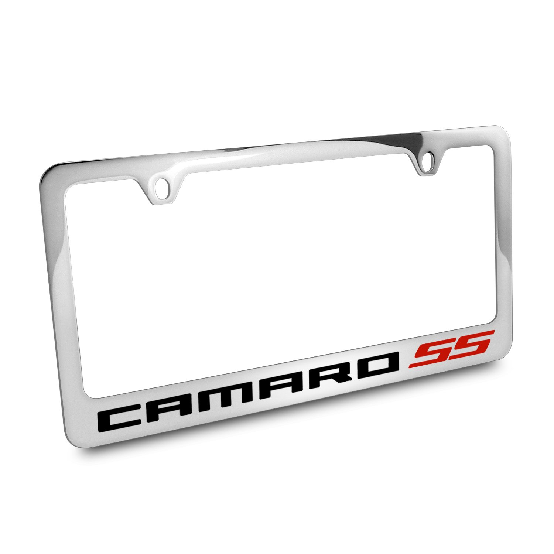 Chevrolet Camaro SS Metall Chrom Nummernschild Rahmen: Amazon.de: Auto
