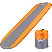 TRIPHUNTER GEARS Quiet Self Inflating Sleeping Pad for Camping Backpacking Traveling and Hiking - Comfortable Sleeping…