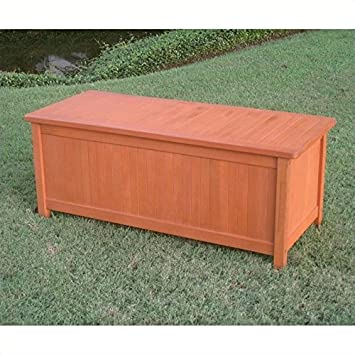 Amazing Amazon Com Pemberly Row Outdoor Patio Storage Bench Caraccident5 Cool Chair Designs And Ideas Caraccident5Info