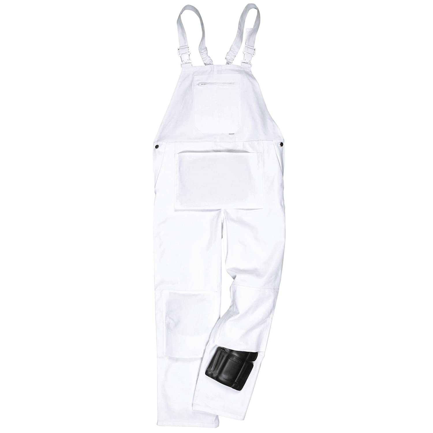 Portwest Unisex Painters Bib & Brace/Workwear (M x Regular) (White) UTRW975_1