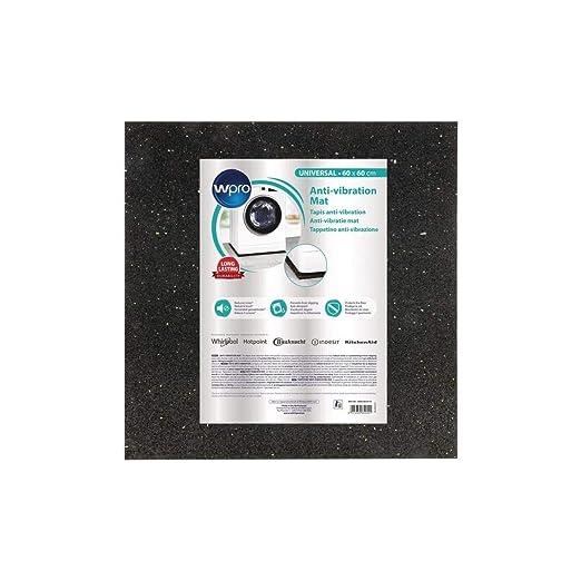 Wpro Ant100 Tapis Anti Vibration Pour Lave Linge 60x60cm