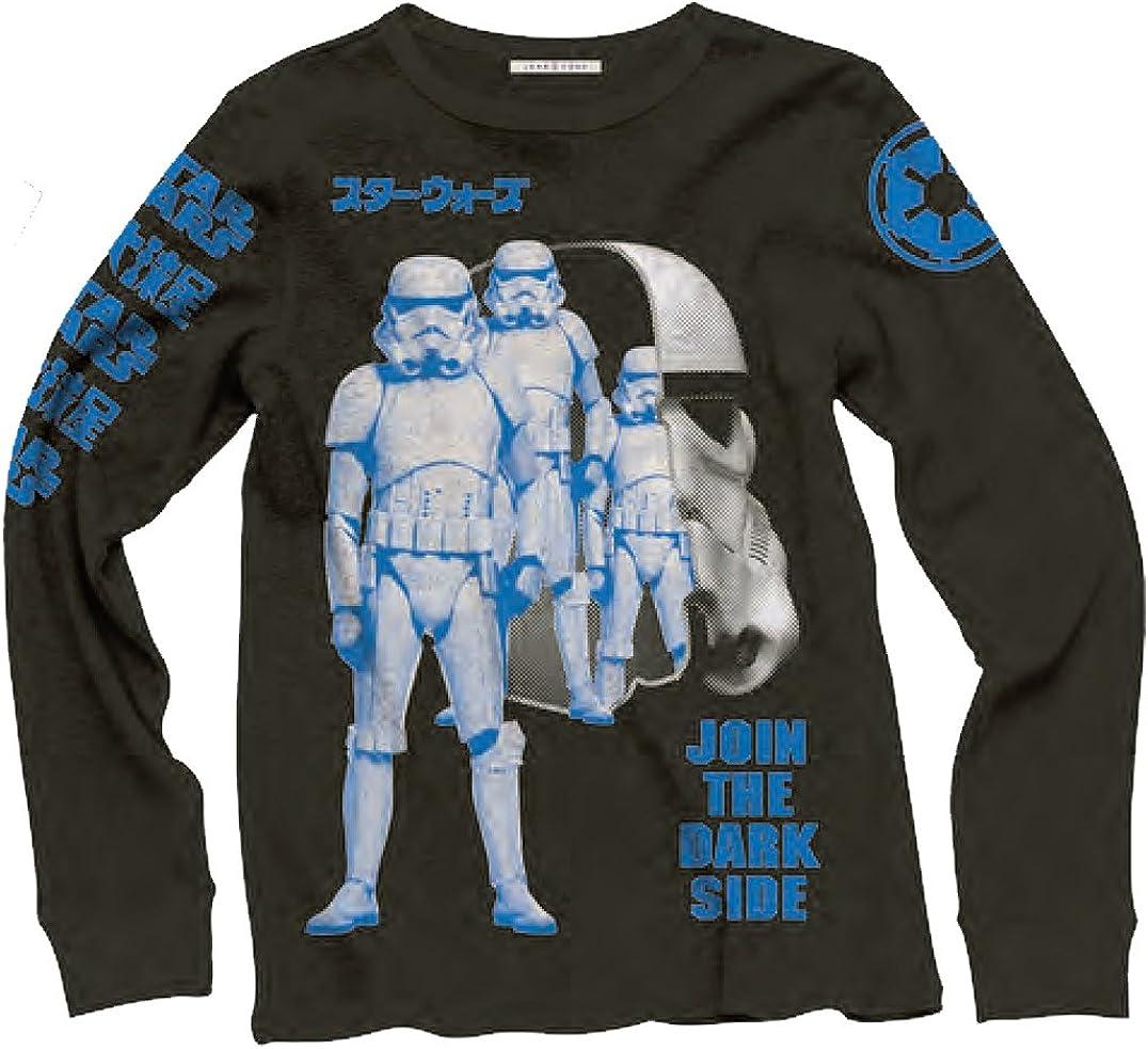 Junk Food Mens Star Wars Join The Dark Side Long Sleeve Shirt
