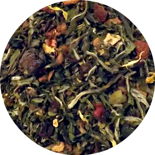 Oregon Summer (White Tea with Peaches, Blueberries, Mint) Tea, Organic & Fair-Trade (Sample Size)