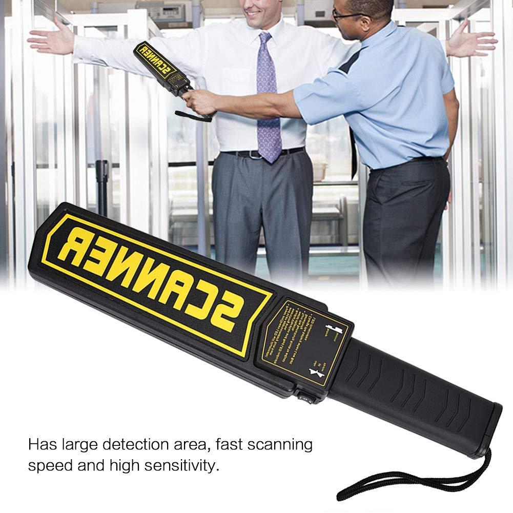 Handheld Metal Detector Portable High Sensitivity Security Scanner for Portable Metal Detectors for Airport Scanning
