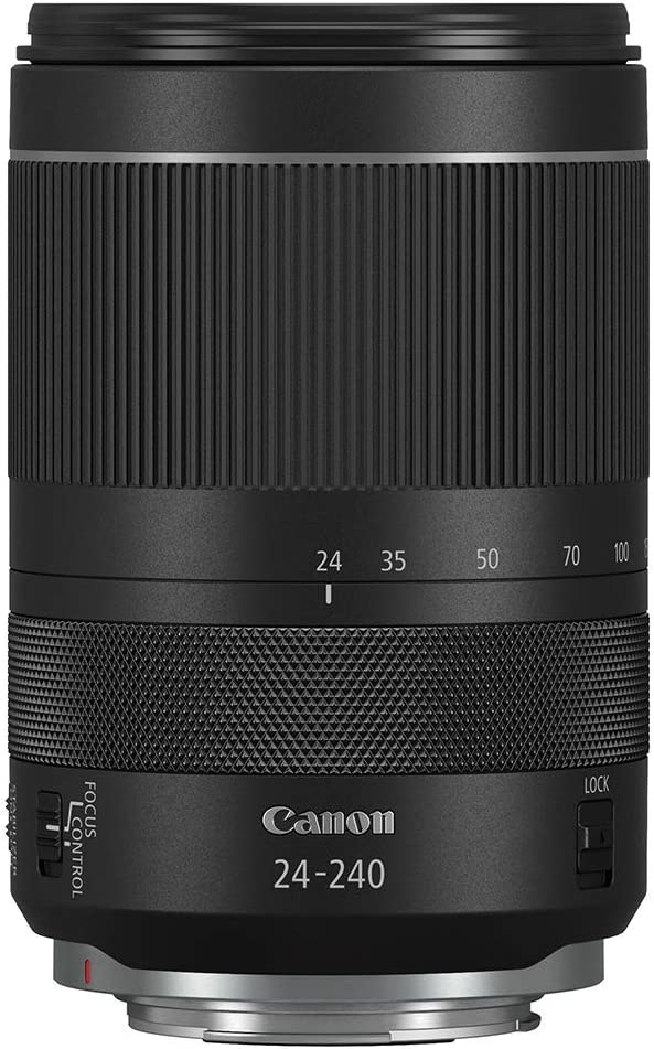 CANON Lens RF24-240mm F4-6.3 is USM (Renewed)