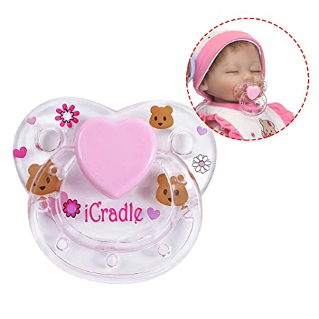 Godyluck Reborn Doll Supplies Imán Chupete Reborns Baby ...
