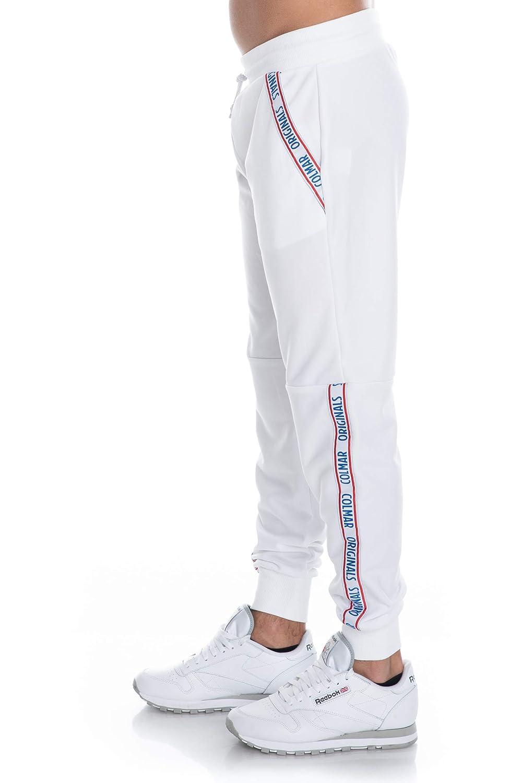 Pantaloni Felpa Colmar Originals Uomo Bianco, Parte