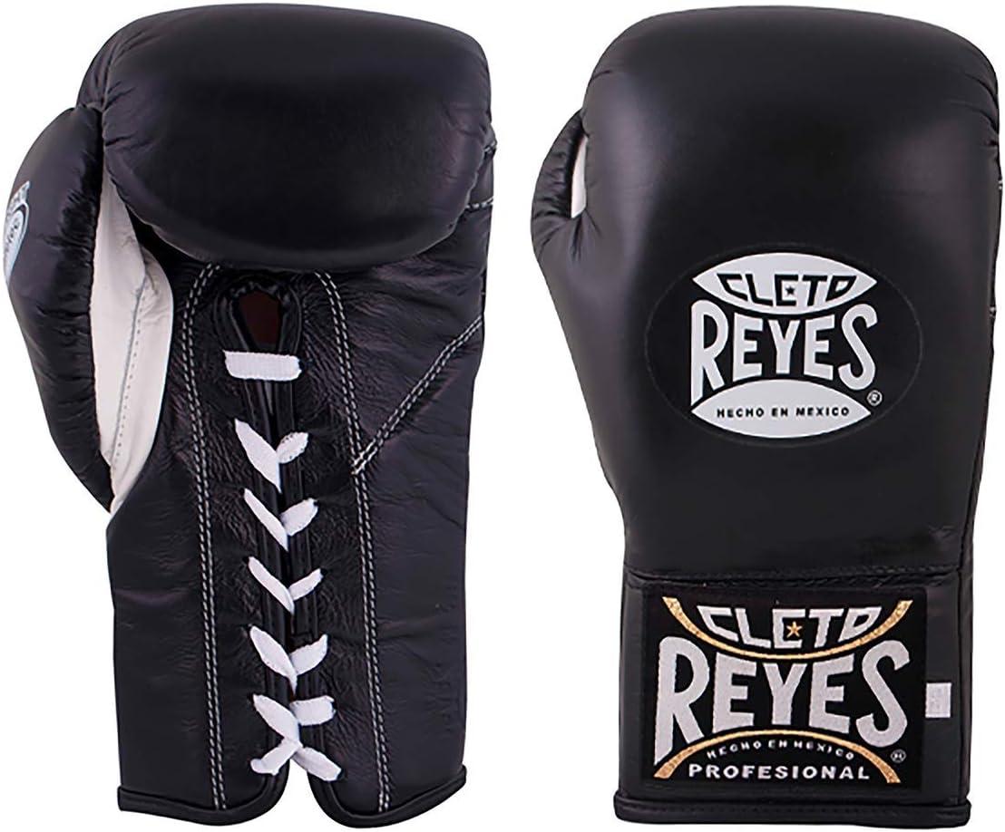Cleto Reyes 公式セーフテック手袋 男女兼用 ブラック 8oz