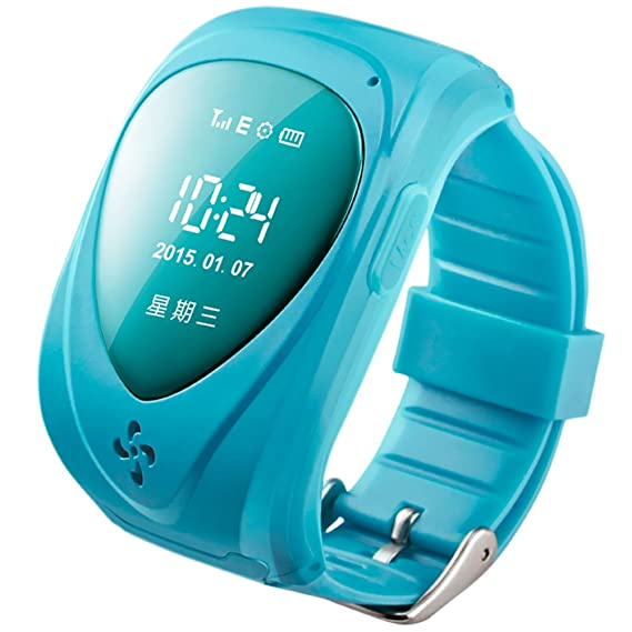 Walsoon Q50 Kids GPS Tracker Smart Watch Double Locate Remote Monitor SOS Wristwatch Anti Lost for