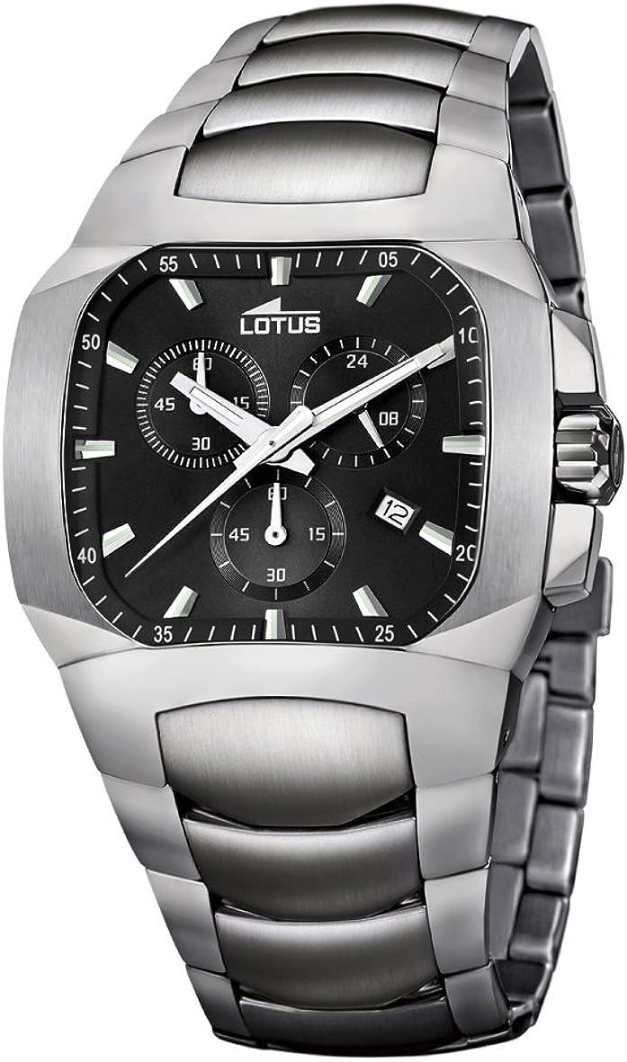 Lotus 15500/8  - Reloj de Titanium Cronógrafo Hombre