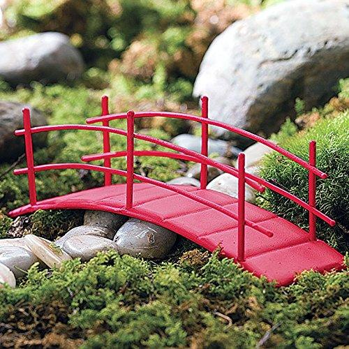 Amazon Com Miniature Fairy Zen Garden Bridge Home Kitchen