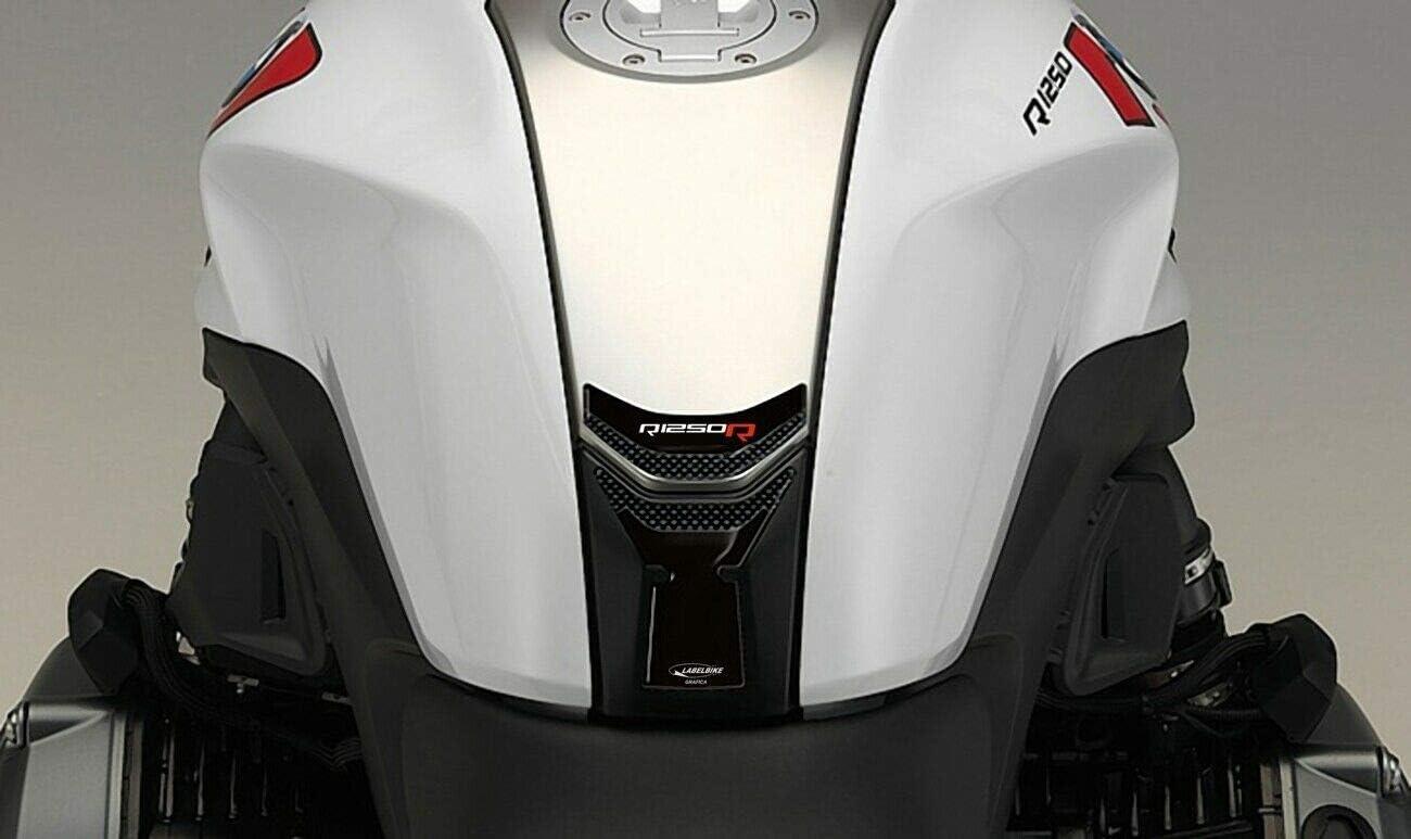 Adesivo in gel 3D carbonio per moto protezione serbatoio compatibile BMW R1250R