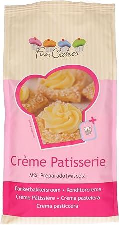 Deliciosa crema pastelera de sabor casero a vainilla y con calidad de una pastelería profesional de