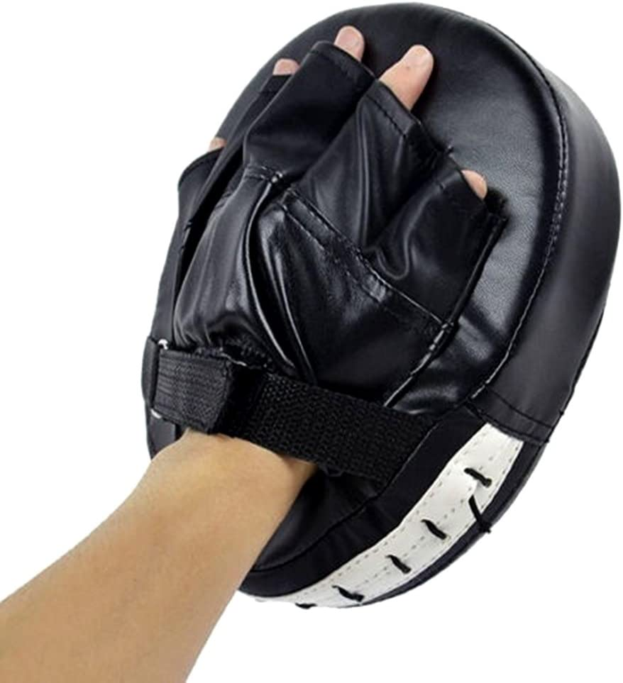 Rowentauk Boxing Pads and Gloves Set Mitts Boxing MMA Kick Training Glove Kits for Men and Women