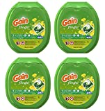Gain fjwnK Flings Laundry Detergent Packs, Original, 81 Count (4 Pack)