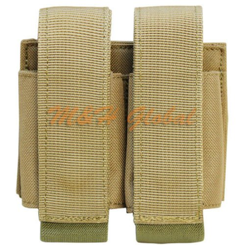 MOLLE Tactical Double 40mm Grenade Pouch - TAN