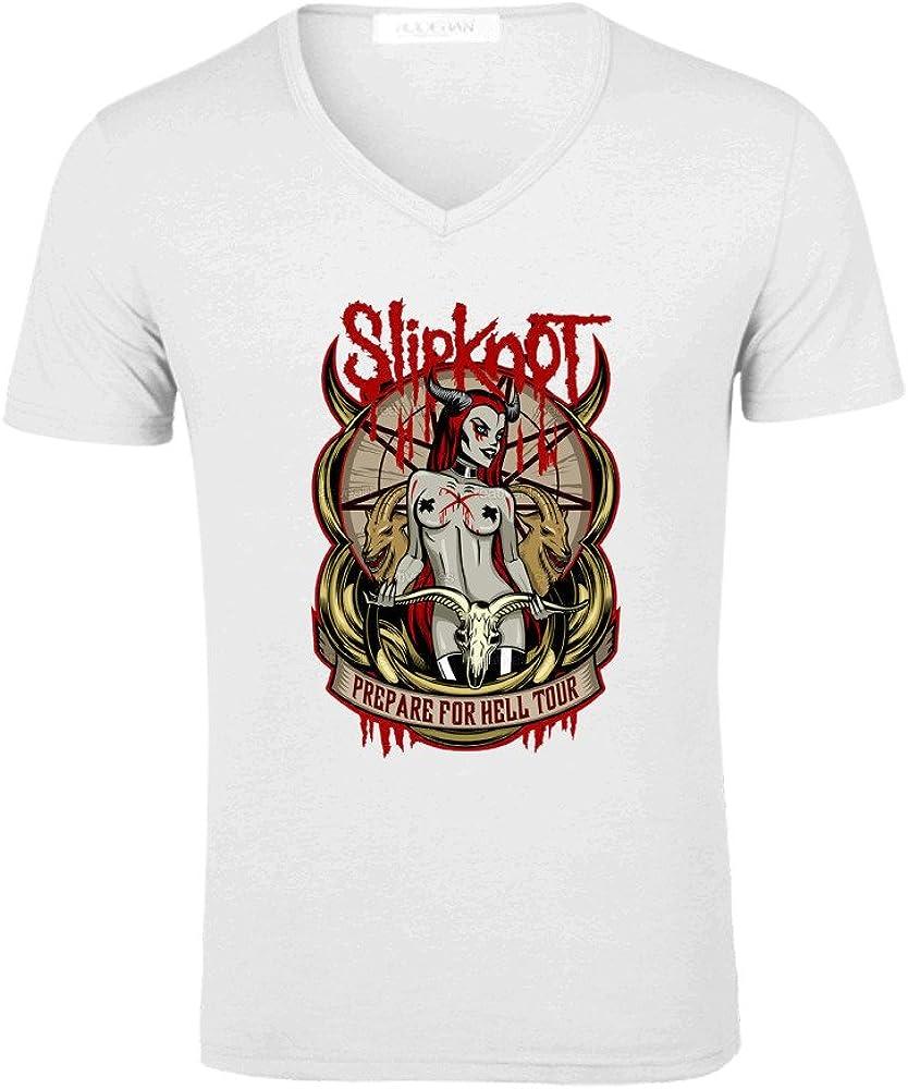 TooWest Heavy Metal banda Slipknot Diablo Logo V cuello ...