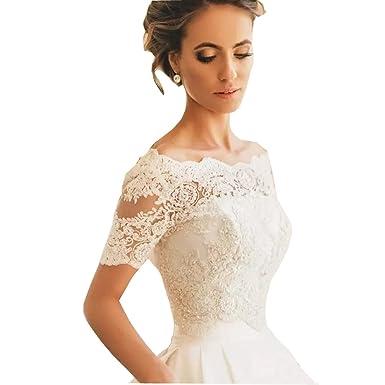 Lace Wedding Dress Short