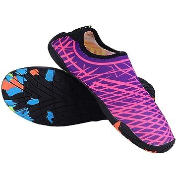 VGEBY1 Zapatos de esnórquel, Zapatos de vadeo Impermeables ...