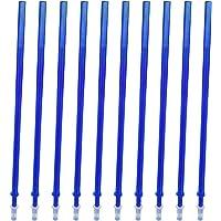 10 sztuk niebieskie atrament usuwalne wkłady do długopisów żelowych drobny punkt 0,5 mm zastępcze wkłady do długopisów…