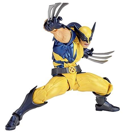 fa237601aca figure complex AMAZING YAMAGUCHI Wolverine ウルヴァリン 約155mm ABS&PVC製  塗装済みアクションフィギュア リボルテック