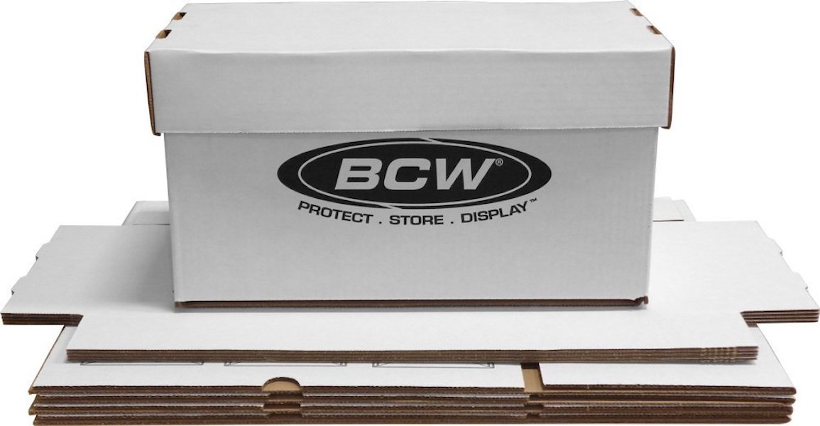 10 BCW 45 RPM Record 7 Inch Storage Boxes