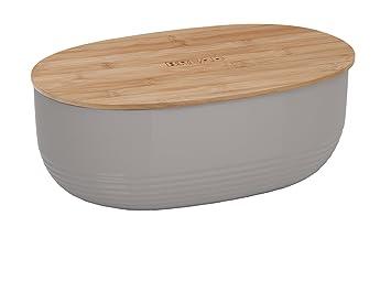 Kela 12062 Brotkasten Schale Mit Deckel Kunststoff Bambus 37 5 X
