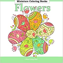Flowers Miniature Coloring Books For Adults In All Departments Adult Al Tea