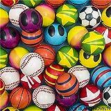 Rhode Island Novelty 2'' Mini Stress Balls Assortment   Pack of 50