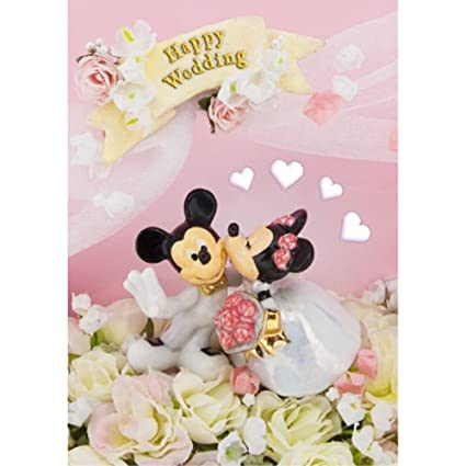 Wedding Greeting Cards.Disney Amazing 3d Wedding Greeting Card Postcard Happy Wedding Greeting Card