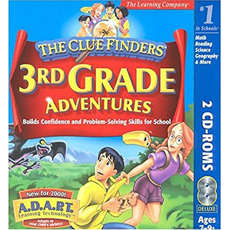 Amazon.com: ClueFinders 3rd Grade Adventures: Mystery of Mathra ...