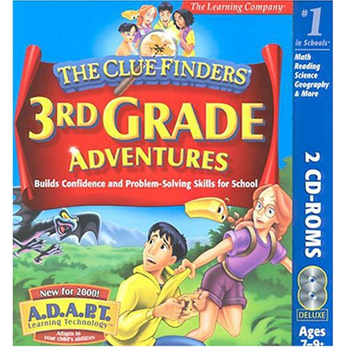 The ClueFinders 3rd Grade Adventures: The Mystery of Mathra