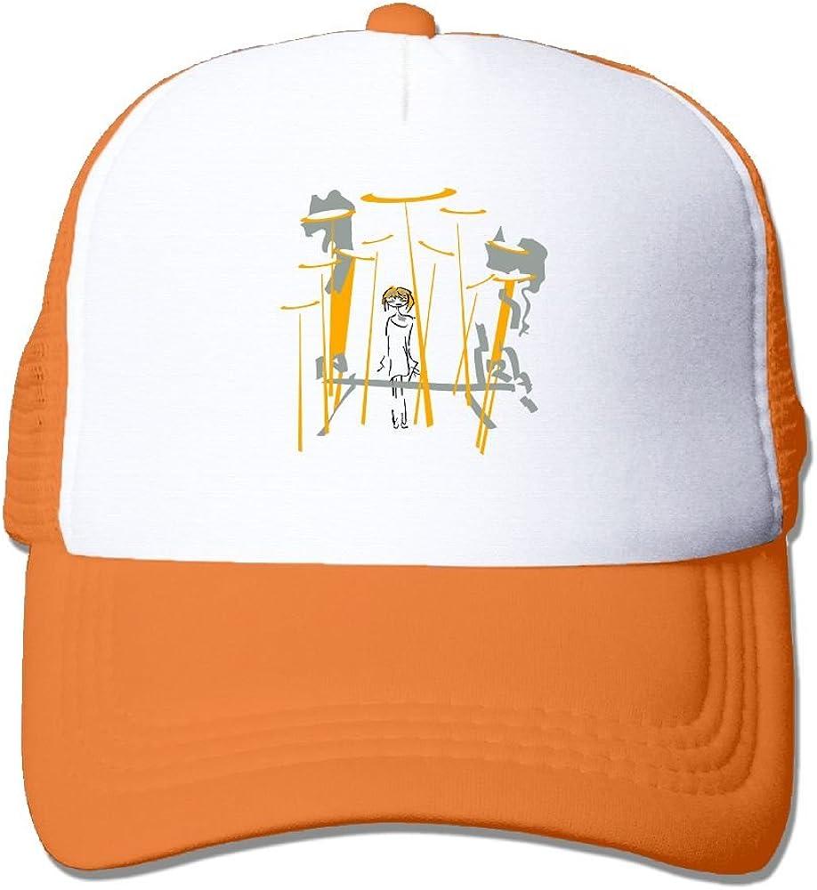 NONGFU Lonely Girl 21 December Big Foam Mesh Hat Mesh Back Adjustable Cap