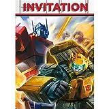 Unique 59554 Transformers Party Invitations, 8ct