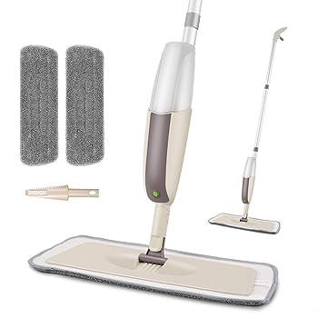 HOMTOYOU Spray Microfiber Mop