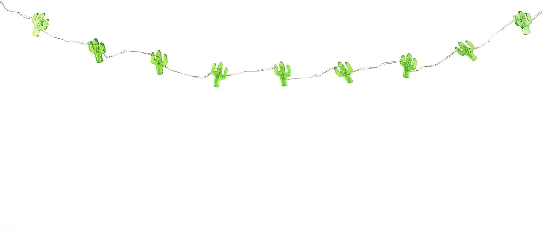 Multicolore 12,4 x 13,6 x 12,4 cm Talking Tables FST4-LIGHT-CACTUS Mini Cactus /à LED